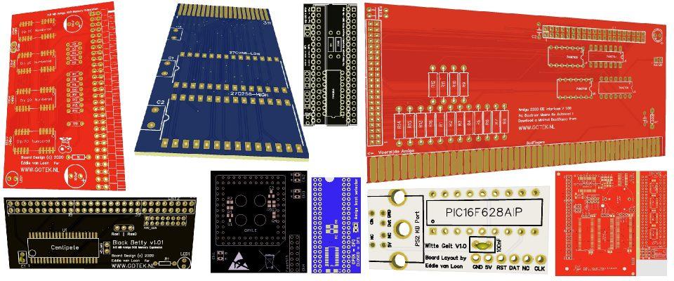 Slider 05 : PCB's voor zelfbouw