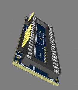 Shop: PCB, Amiga Boot selektor 3D (DF0: - DF2:)