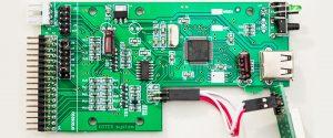 PCB (Printplaat) van een Gotek Floppy Emulator