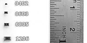 PCB-Informatie : SMD Afmetingen