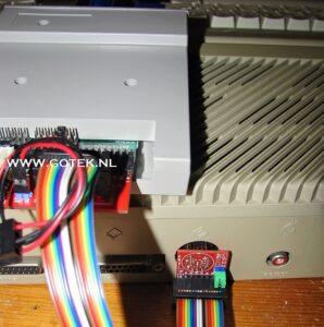 Close-up atari ST externe Gotek Adapter