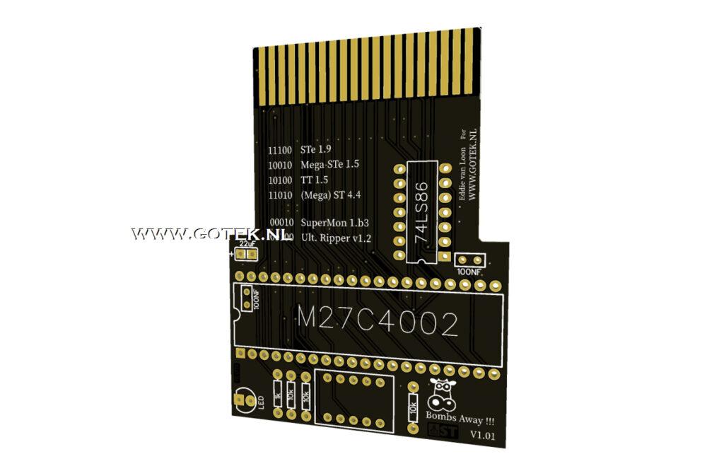 Slider 13 : Diagnostische Cartridge voor Atari *