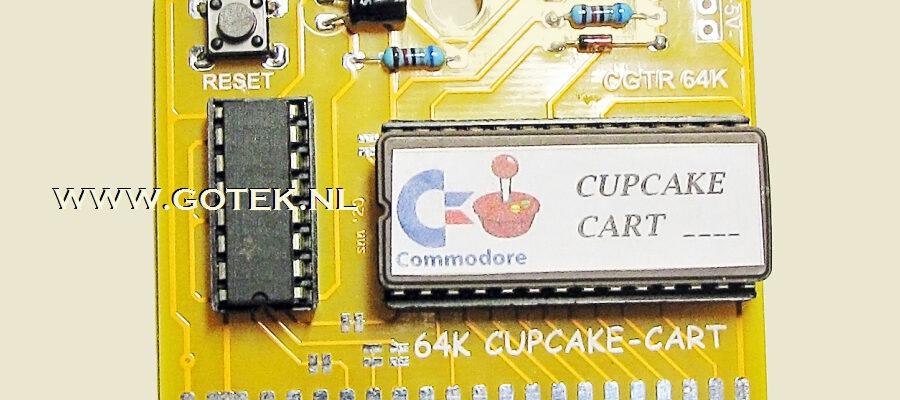 Slider 08 : CupCake Cartridge voor de Commodore 64