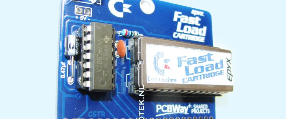 Slider 09 : Epyx Fastload Cartridge voor de Commodore 64 (Repro)