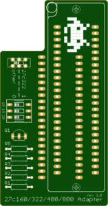 27C400 Eprom Adapter voor de TL866 Eprom Programmers
