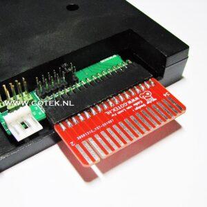 IDC-2-EDGE Adapter voor het aansluiten van 5,25 floppydrives