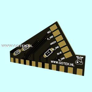 PCB voor in een Scartkabel