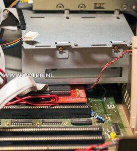 Amiga 2000 Interne IDE Interface met IDE kabel voor extern bereikbare CF kaart
