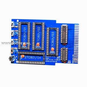 Obesicart voor de C64 PCB in blauwe kleur (V1.01)