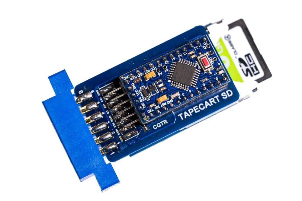 Slider 15 : Tapecart SD voor de C64