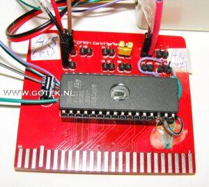 MSX Prototype van een Game Cartridge