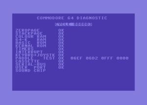 C64 Diagnostic Cart 324528-02