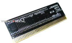 Amiga 2000 CPU Relocator (achterzijde)