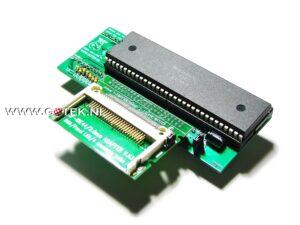 Amiga Interne 44 pin IDE-Interface Close-Up
