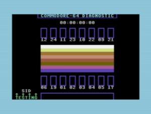 C64 Diagnostic Cart Burnin Test 7.2