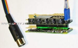 Pi1541 Zero met OLED DIsplay