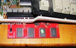 Amiga 500 met het Externe 2MB FastRam ingeplugd