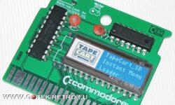 Tapecart Instant Menu Loader Cartridge Boven aanzicht