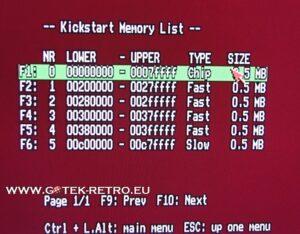 pinpointing gehegen problemen Amiga