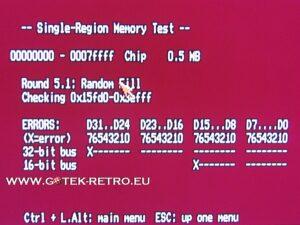Geheugen problemen in Chip Memory